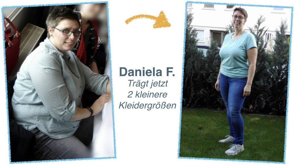 Daniela F. Abnehmen ohne Waage