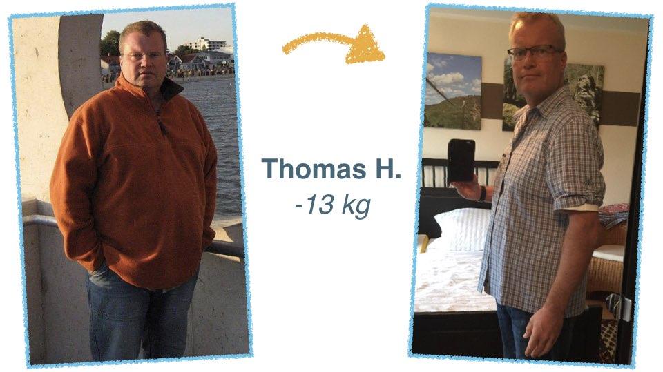 Thomas H. Über 10 Kilo abnehmen ohne Diät