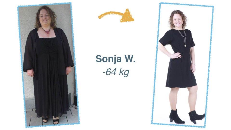 Sonja W: Über 30 % weniger Körperfett