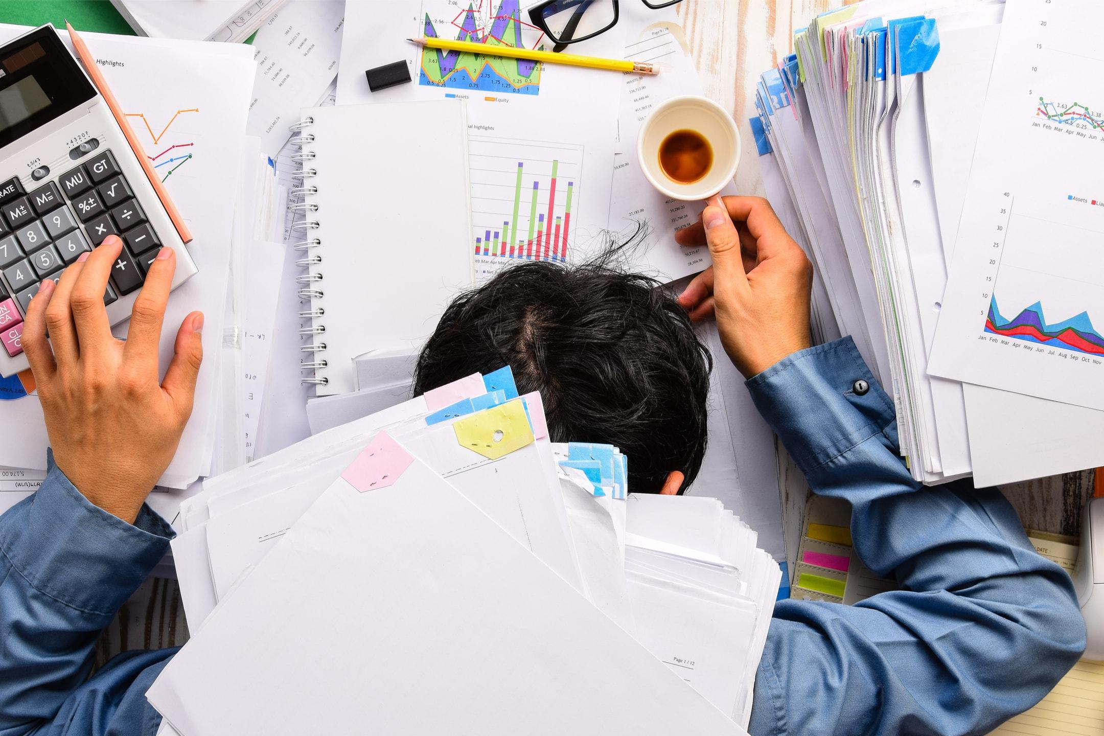 Zu viel Stress macht krank!